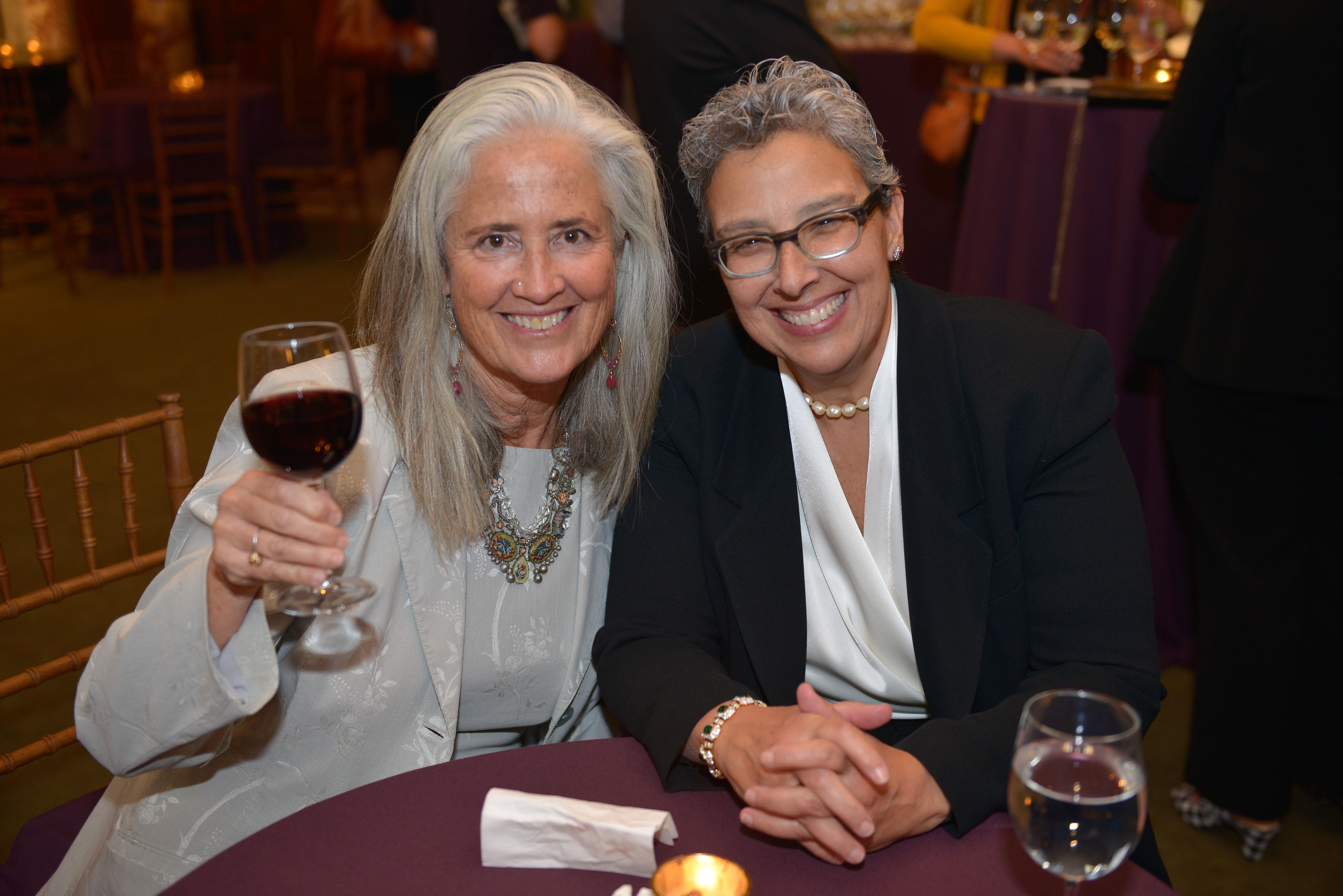 From left: 2018 Covenant Award Recipient Deborah Newbrun and her nominator, 2016 Covenant Award Recipient Rabbi Benay Lappe.