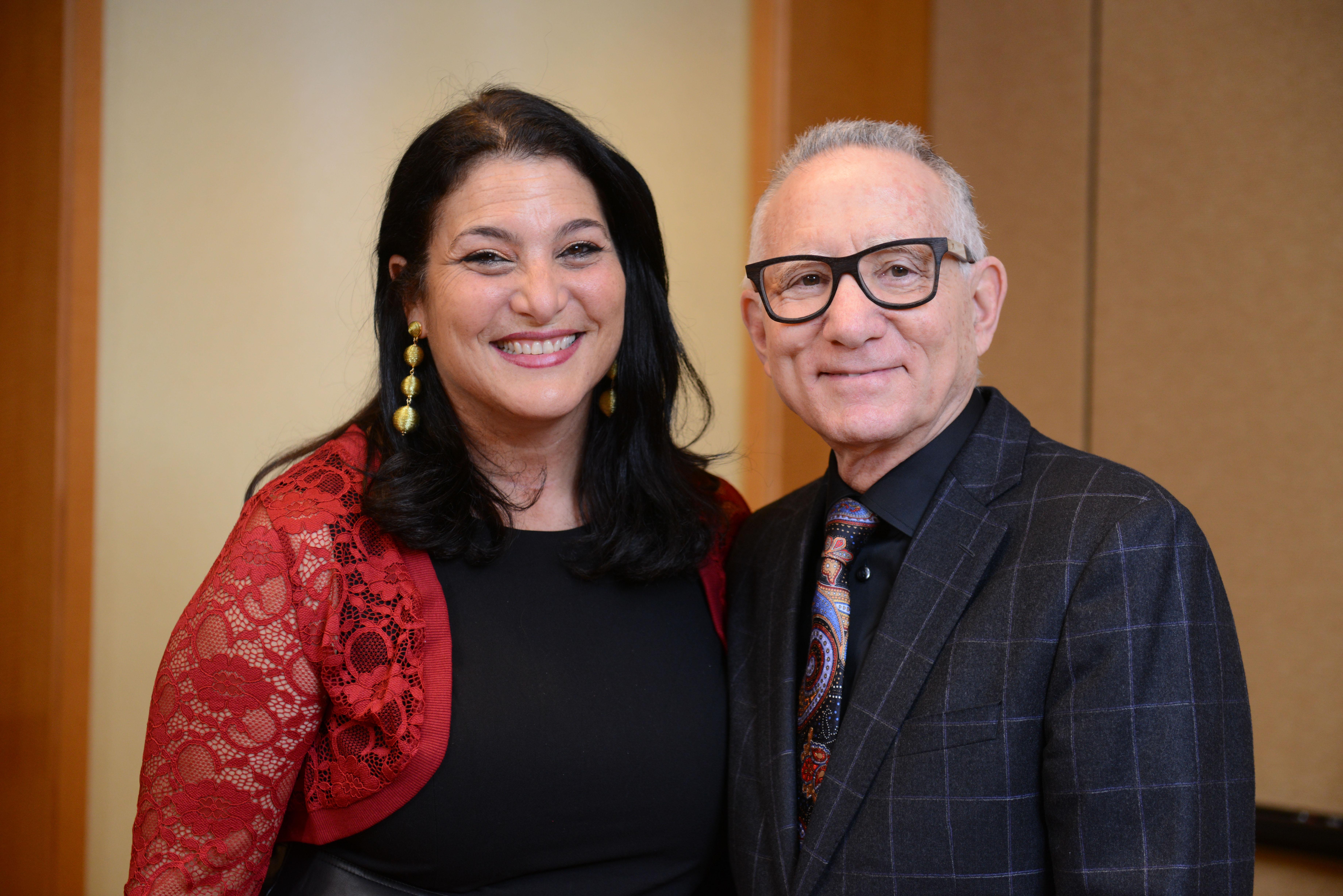 2018 Covenant Award Recipient Naomi Ackerman and her nominator, Rabbi Steven Carr Reuben.