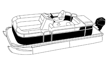 Partially Enclosed Front and Rear Decks