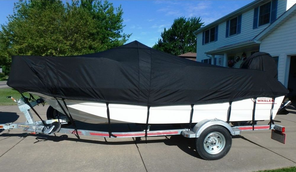 Boston Whaler with a Custom Carver Cover