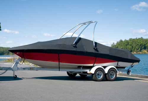 Tower Boat Covers: For Boats with Ski or Wakeboard Towers