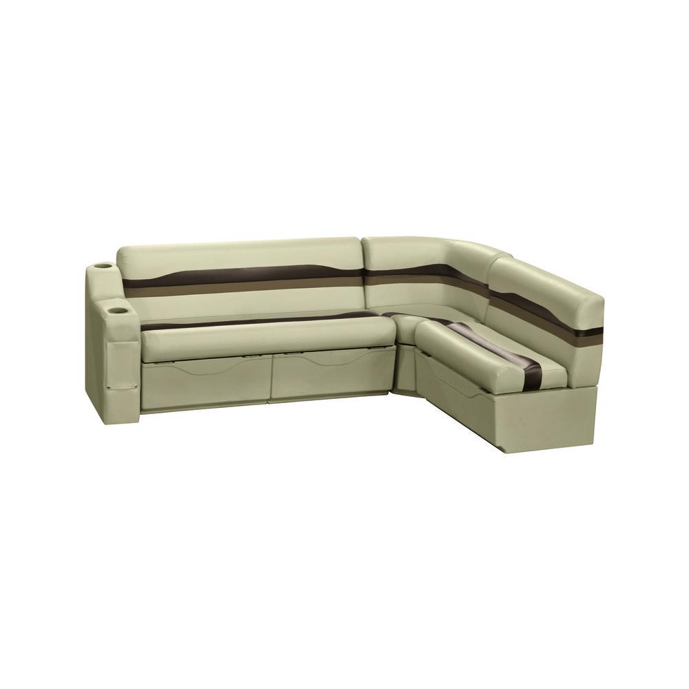 "Pontoon Furniture Sets Wise Pontoon Seats: Rear Groups > Talon Series > 86"" x 61 ..."