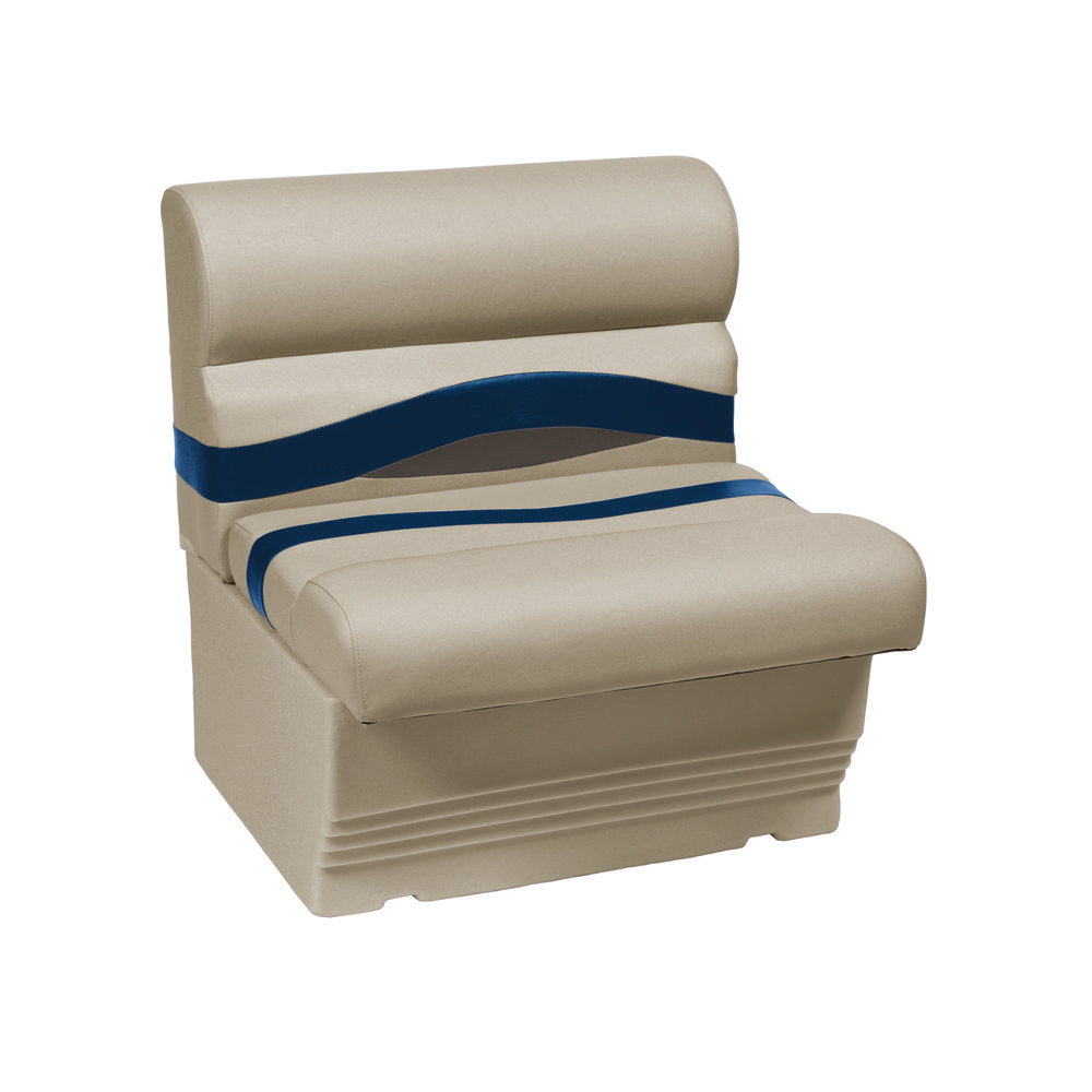 Boat Covers Product : Wise pontoon seats benches gt premier oz vinyl bench