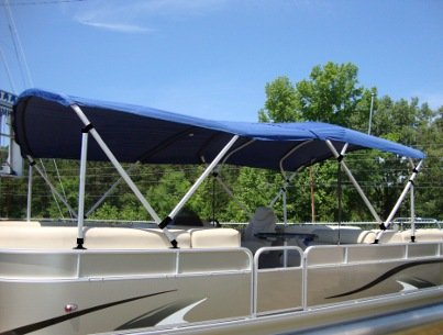 Pontoon Bimini - Double Length
