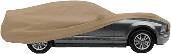 Taupe Covercraft Car Cover