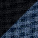 BLUE INSERT WITH BLACK TRIM material swatch