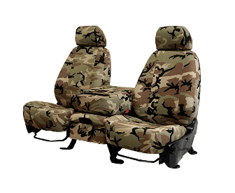 Caltrend Retro Style Camouflage Seat Covers