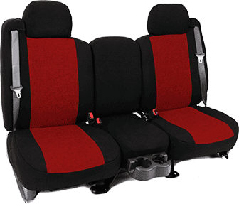 RED INSERT WITH BLACK TRIM