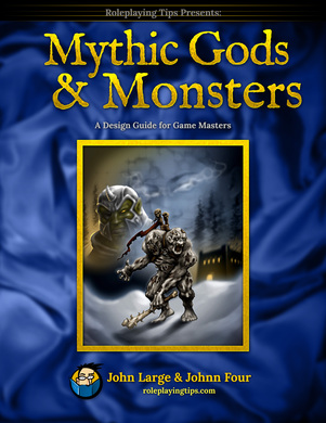Cover of Mythic Gods and Monsters