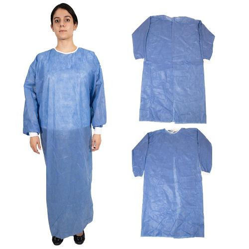 FDA Certified AAMI LEVEL 3 Disposable Surgical Gown / Sterile - Blue (X Large)