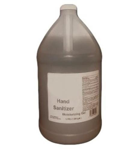 80% Alcohol Hand Sanitizer Gel - Gallon w/o Pump (4/Case)