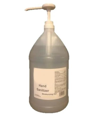 Lemon Scented 70% Alcohol Hand Sanitizer Gel - 1 Liter w/ Pump (12/Case)