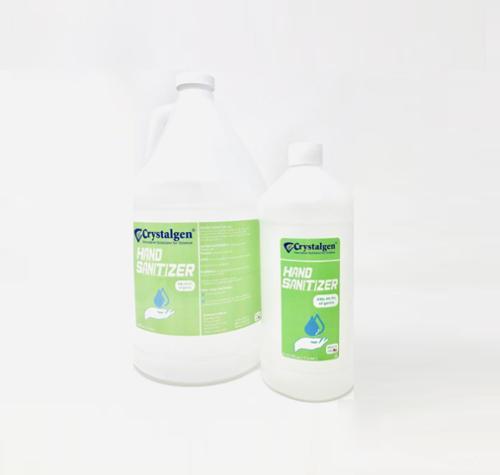 Crystalgen Alcohol Based Hand Sanitizer - 1 Liter
