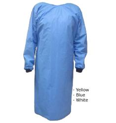 AAMI LEVEL 3 Disposable Surgical Gown - Yellow