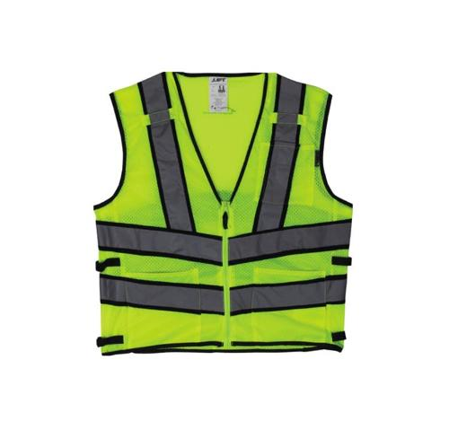 LIFT Safety Viz Pro 2 Yellow Safety Vest - Large