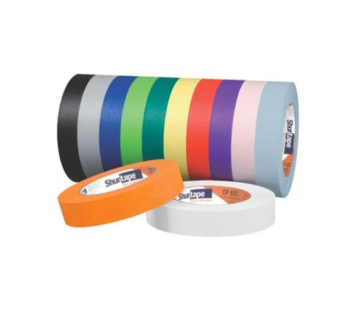 Light Blue x 60 yds. Shurtape CP-631 Colored Masking Tape 1//2 in