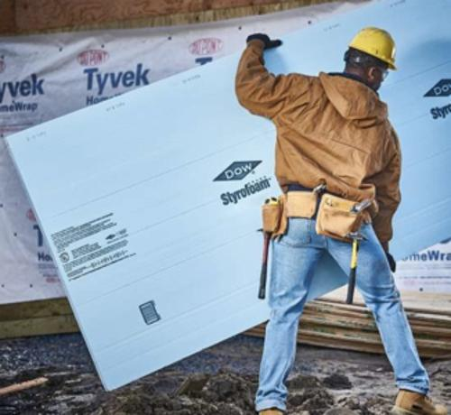 Owens Corning Foamular R 7 5 Extruded Polystyrene Foam Board Insulation 1 1 2 X 4 X 8 At Menards