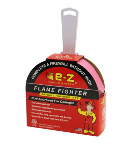 2 in x 250 ft E-Z Taping System Fire Tape Flame Fighter Drywall Finishing Tape