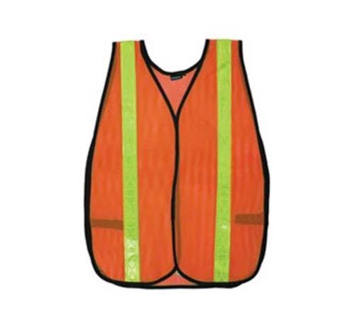 ERB Non-ANSI Reflective Orange Economy Safety Vest