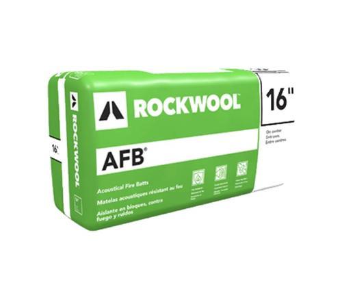 6 in x 24 in ROCKWOOL AFB Acoustical Fire Batt