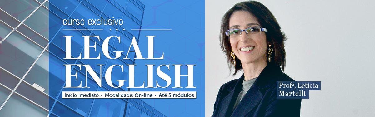 CPJUR disponibiliza curso online de Inglês Jurídico