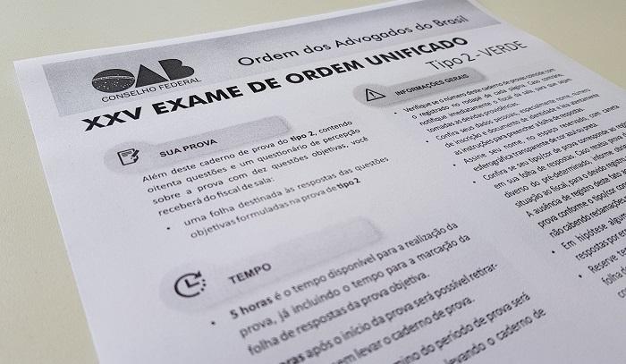 XXV Exame: confira cinco questões da OAB que geraram polêmica