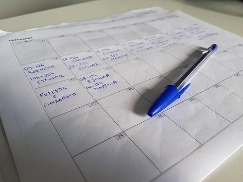 Como fazer um cronograma de estudos
