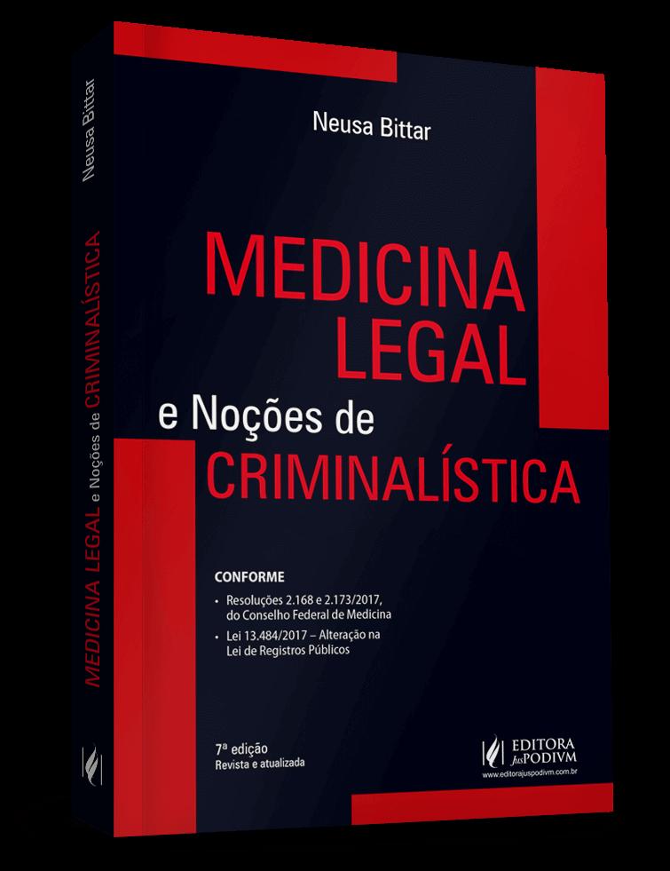 Professora do CPJUR publica livro sobre Medicina Legal