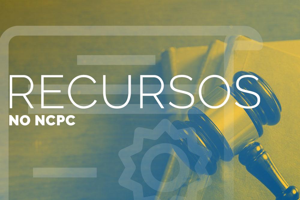 Recursos no NCPC