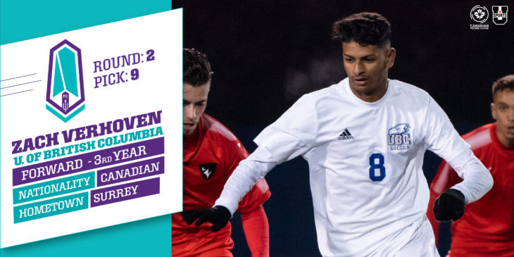 Click to learn more about Pacific FC's 9th overall pick | READ MORE