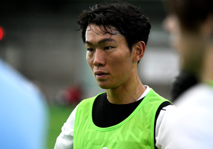 Son Yongchan during the Toronto Open Trials. (CPL)