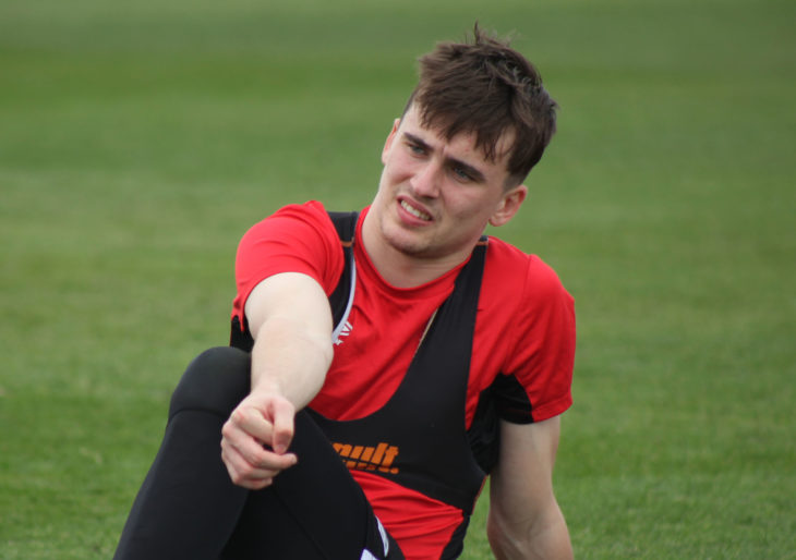 Liam Millar pictured at men's national team camp ahead of Canadas friendly with New Zealand in Roldán, Spain. Canada Soccer
