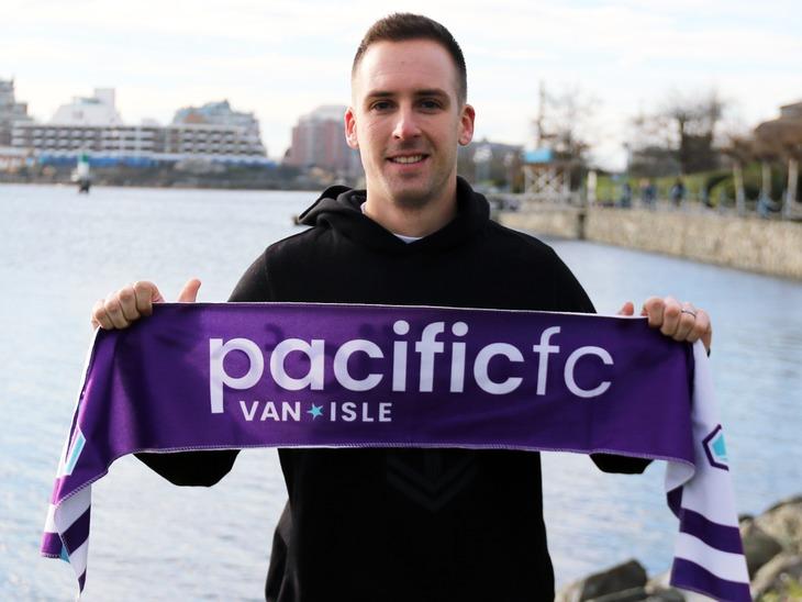 Goalkeeper Mark Village joins Pacific FC in inaugural season.