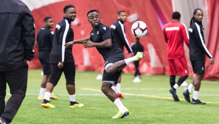Kwame Awuah. (Forge FC)