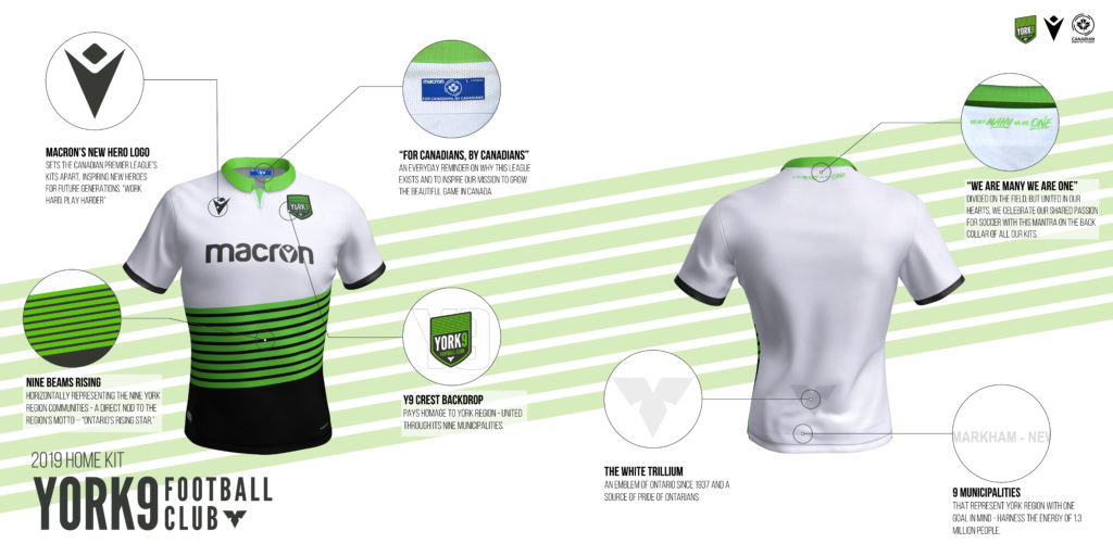 York9 FC's home kit. (Click to view full size).