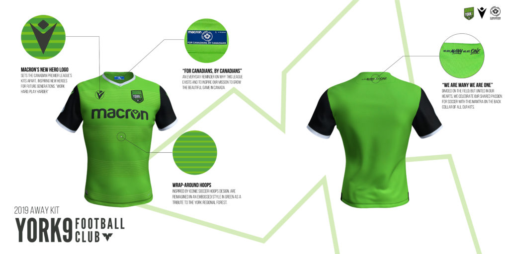 York9 FC's away kits. (Click to view full size).