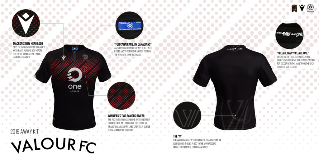 Valour FC's away kit. (Click to view full size).