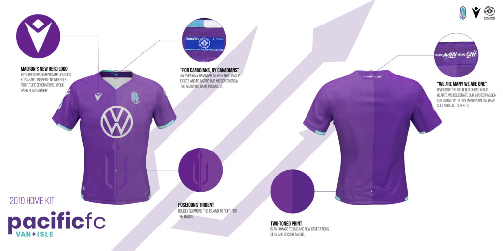 Pacific FC home kit. (Click to view full size).