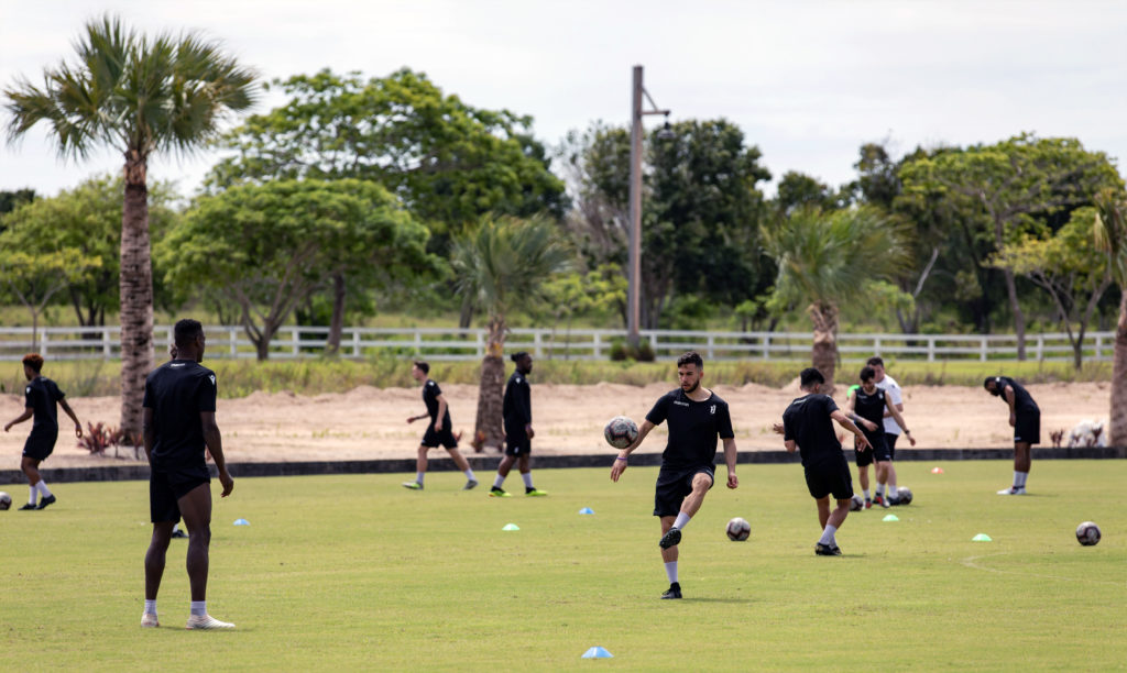Forge FC training in Punta Cana. (Photo: Nora Stankovic/CPL).
