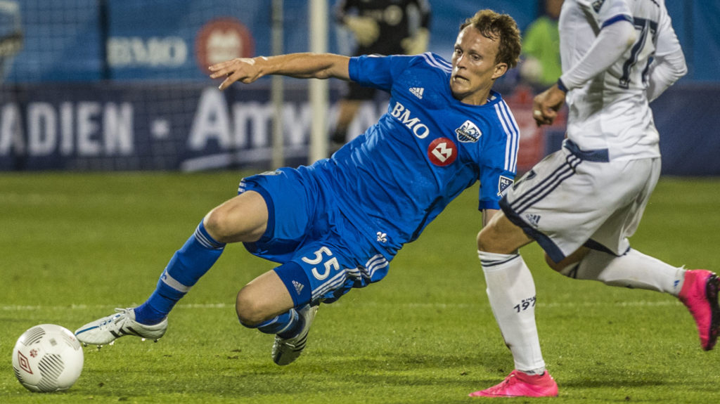 Wandrille Lefevre during his time with the Montreal Impact. (Canada Soccer)