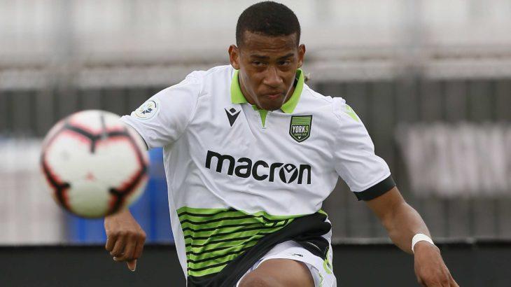 York9 FC midfielder Ryan Telfer. (John E. Sokolowski-USA TODAY Sports for CPL).