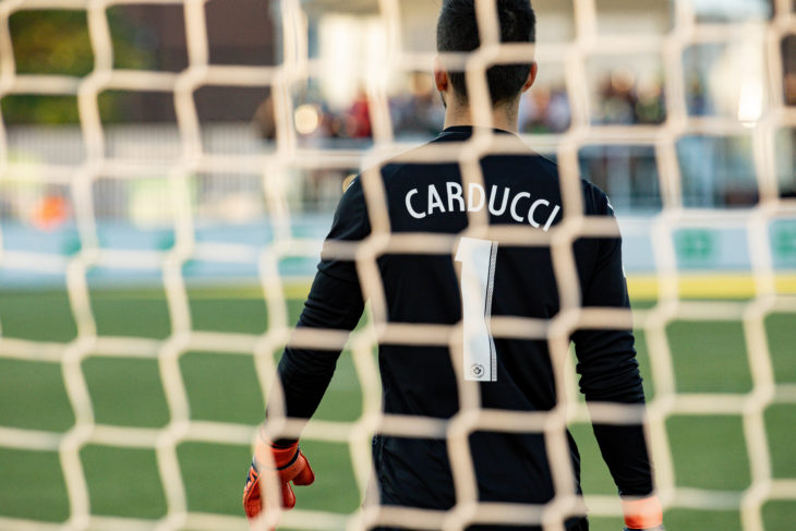 Cavalry's Marco Carducci. (Photo: Nora Stankovic).