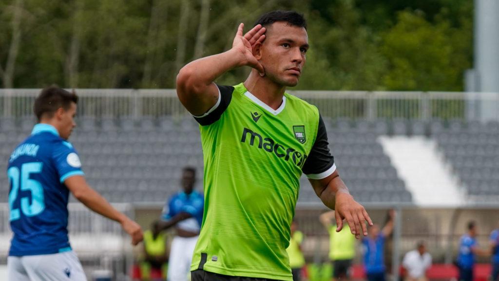 York9 FC forward Rodrigo Gattas. (CPL).