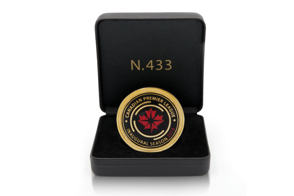 The CPL's 2019 Official League Coin.