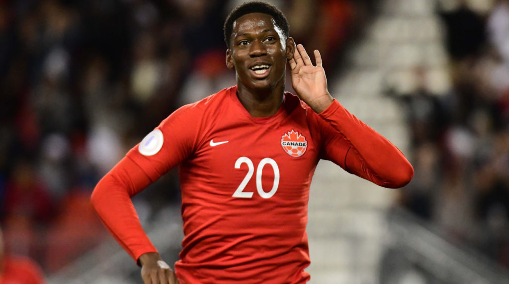 Jonathan David. (Canada Soccer).