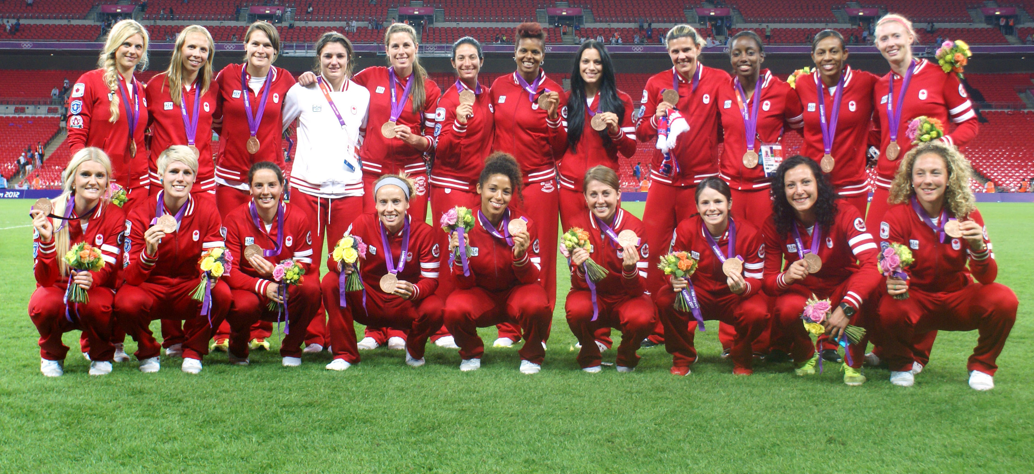 CanWNT's London 2012 squad inducted to Canadian Olympic Hall of Fame