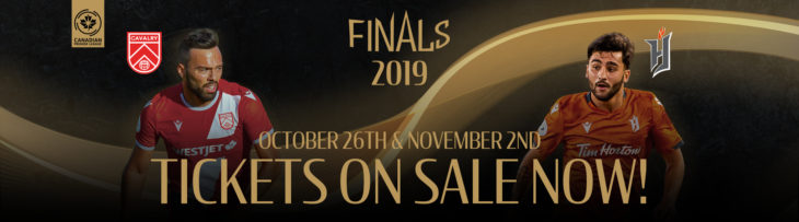Tickets on sale now: 2019 Canadian Premier League Finals