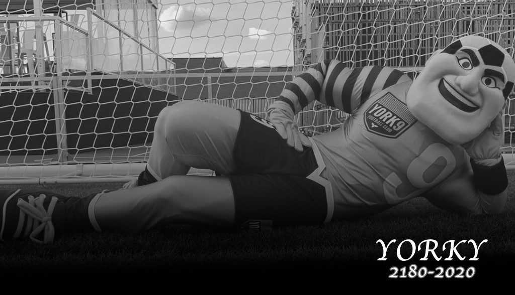 RIP Yorky.