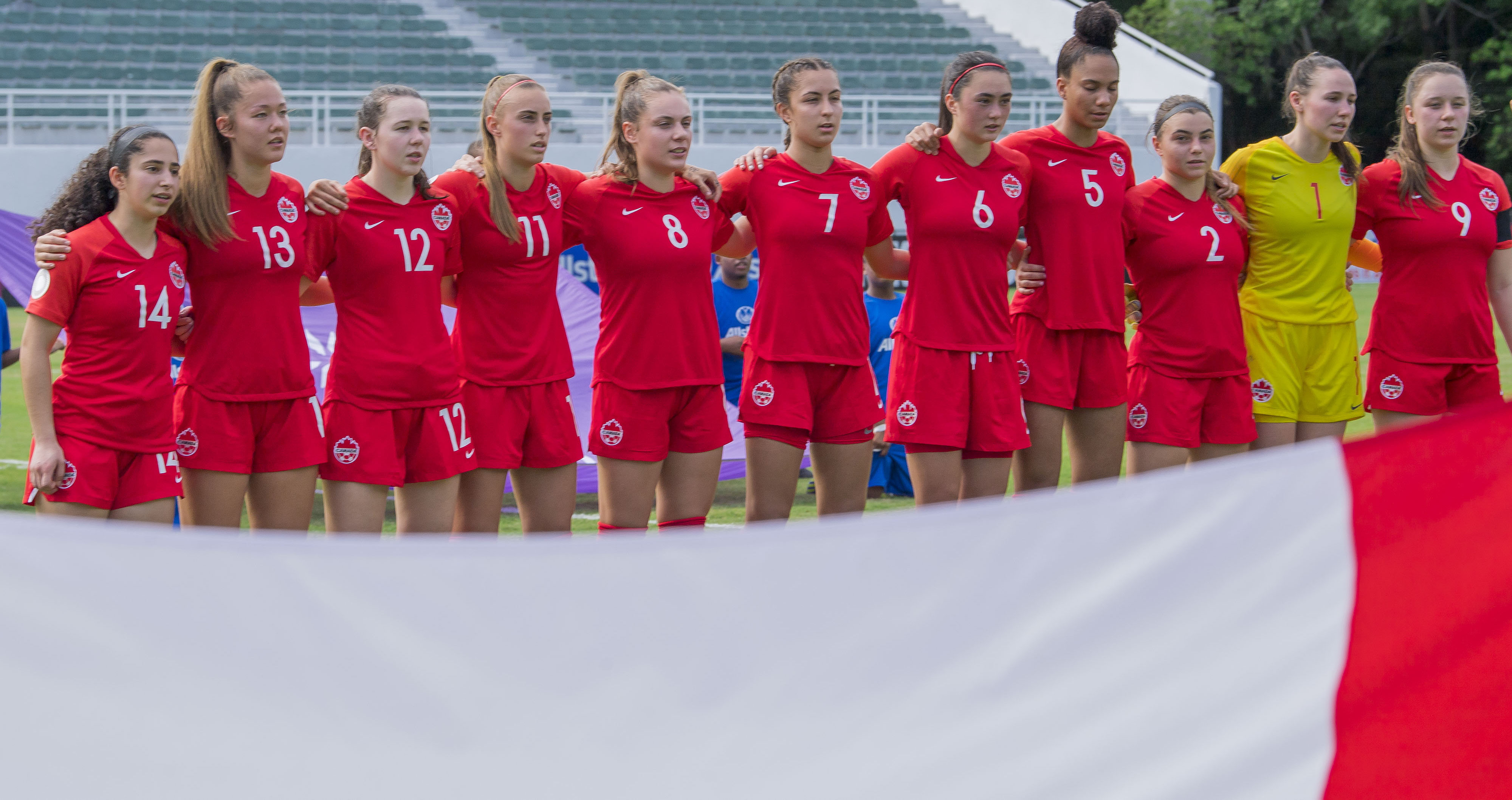 Canada wins opener at Concacaf U-20 Women's Championship