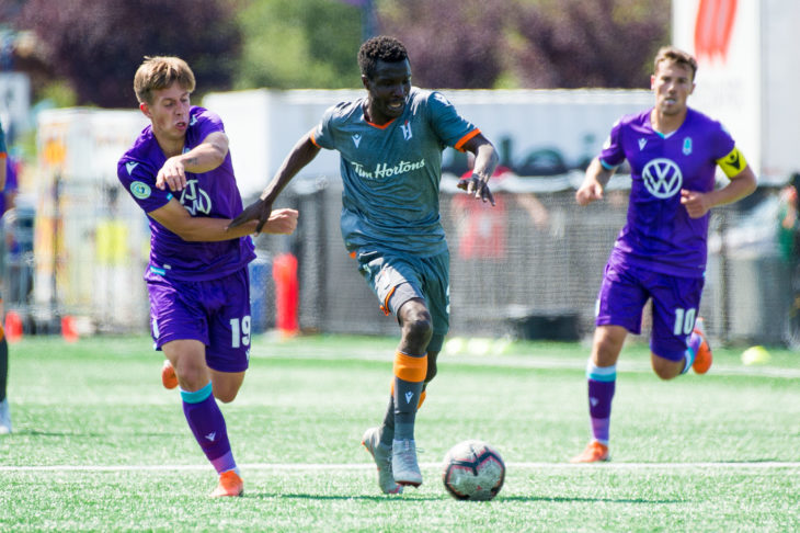 Canadian Premier League - Pacific FC V Forge FC - Victoria, BC, Canada - July 13, 2019